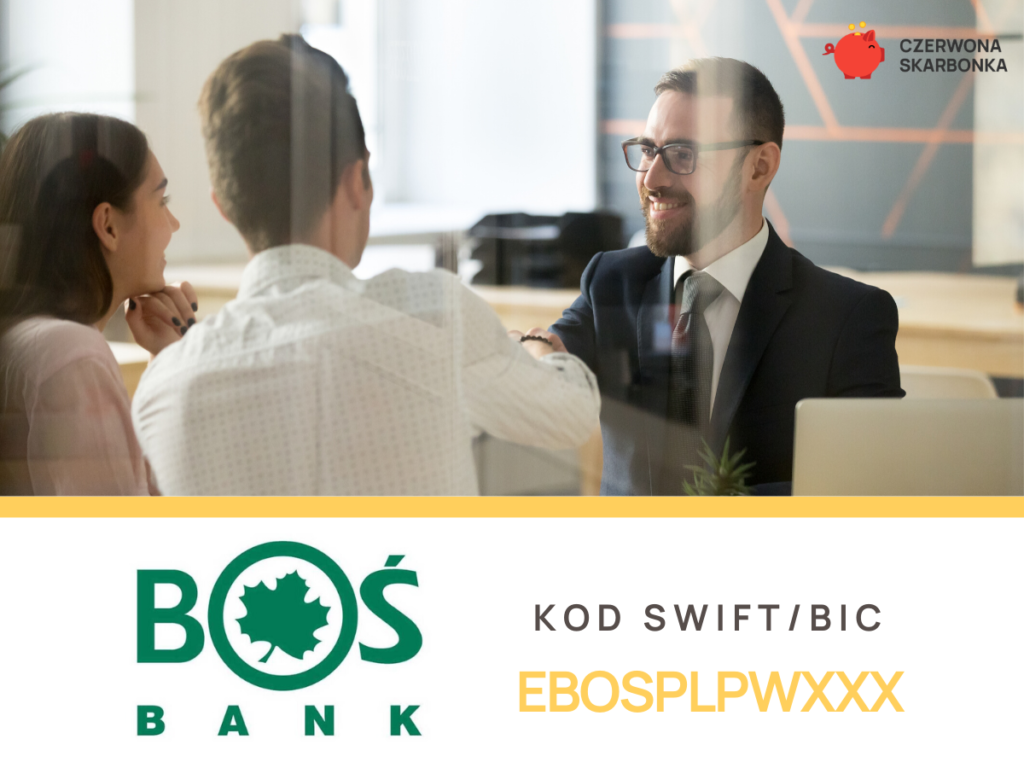 BOŚ Bank - kod SWIFT, IBAN,