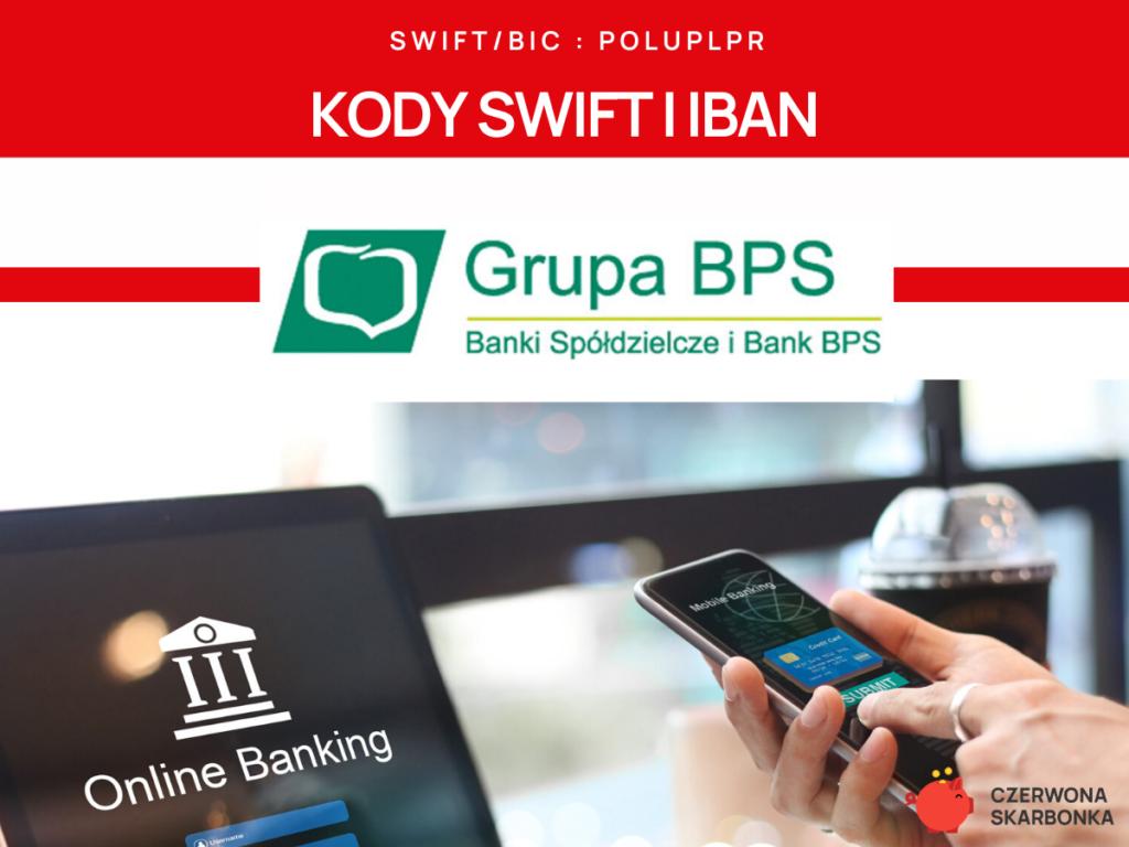 BPS Bank - kod SWIFT, IBAN,