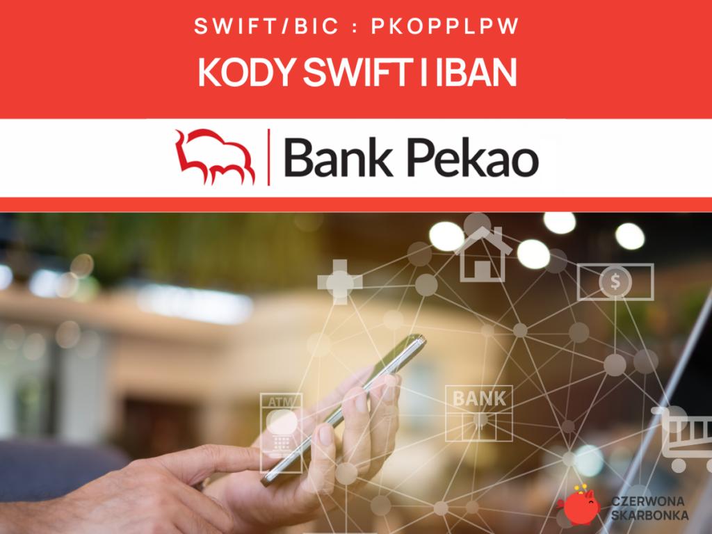 Bank Pekao – kody SWIFT, IBAN oraz adres banku.