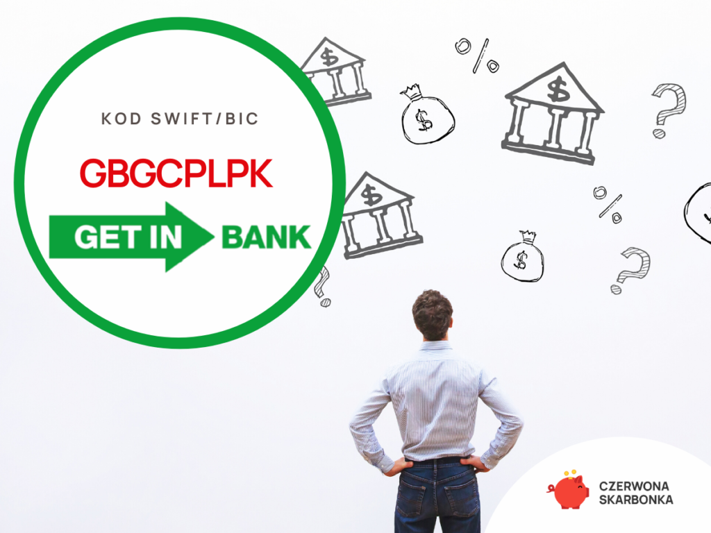 Getin Bank - kod SWIFT, IBAN,