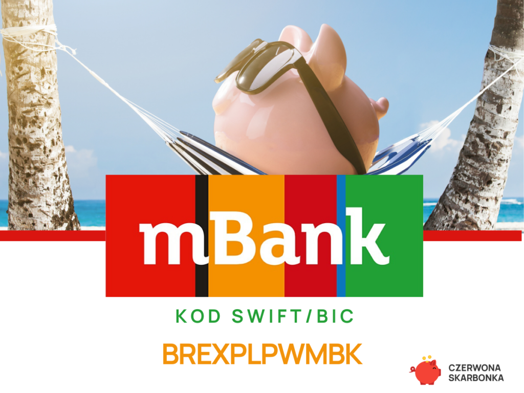 mBank - kody SWIFT, IBAN
