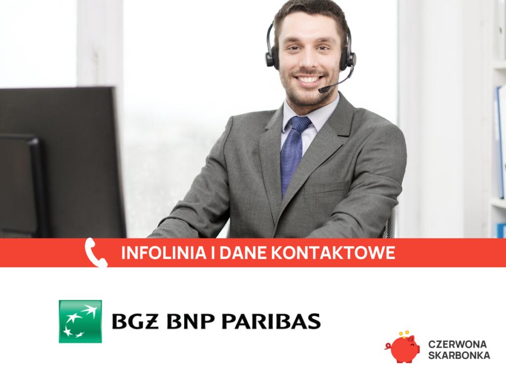 BGŻ BNP Paribas infolinia