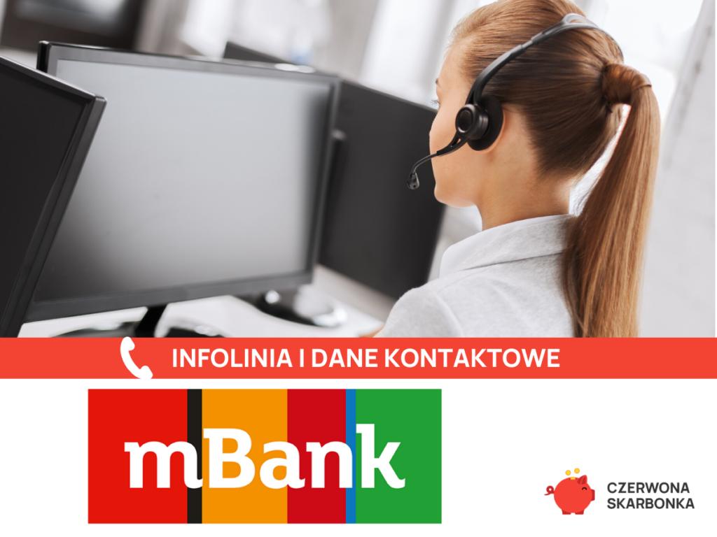 mBank infolinia i dane kontaktowe