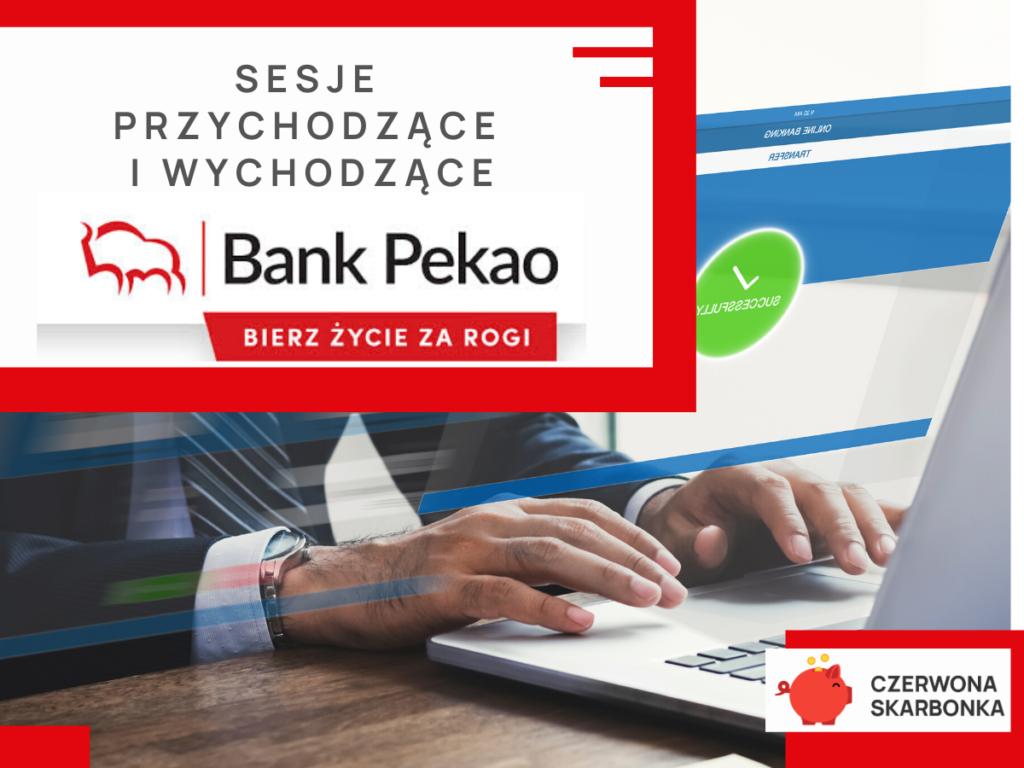 Bank Pekao SA sesje elixir
