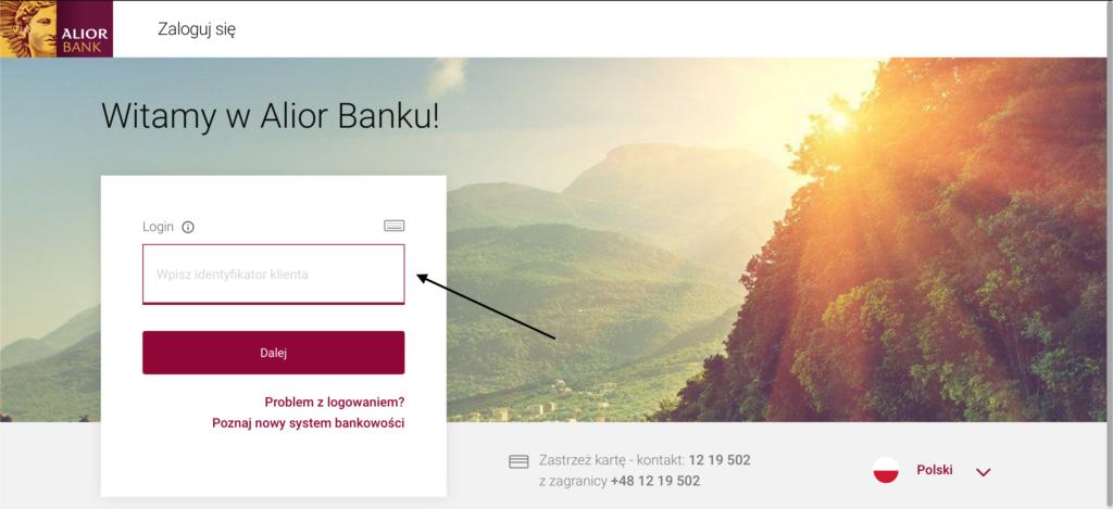 wyciąg Alior Bank