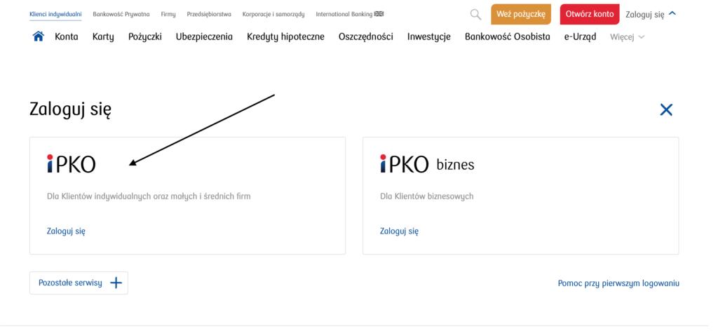 wyciąg PKO BP