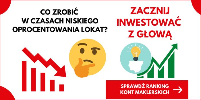zacznij inwestować z kontem maklerskim
